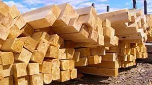 Предлагаем купить деревянные балки перекрытия, цена за м3