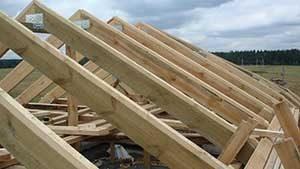 Деревянная стропильная система крыши